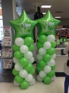 promotional balloon columns st albans