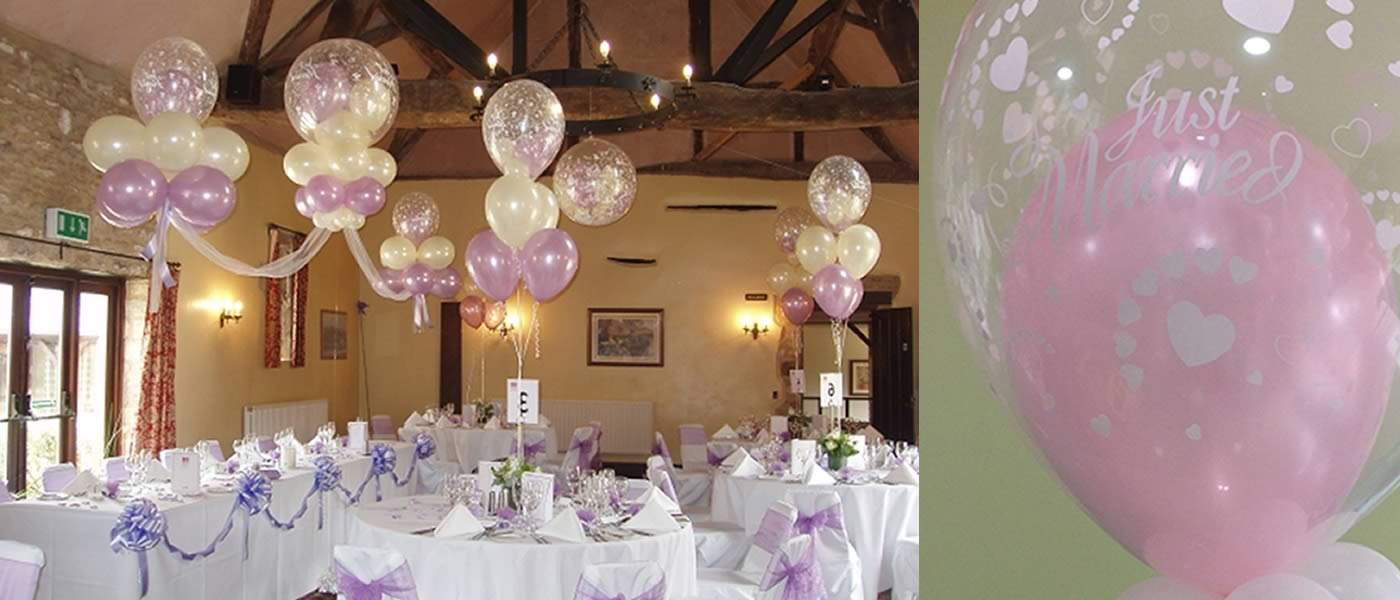 Balloon decoration for your wedding