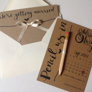 wedding & party stationary design St Albans
